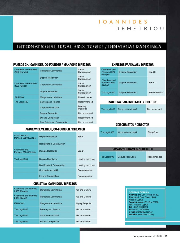 ID LAW Leading Law Firm in Cyprus